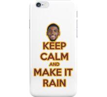 Make it rain -  Kyrie iPhone Case/Skin