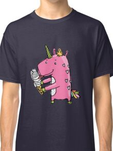 Unicorn and ice cream Classic T-Shirt