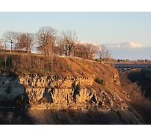 Lockport Dolomite at Whirlpool State Park Photographic Print