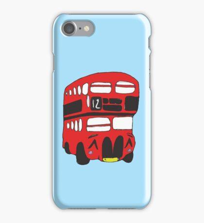 Cute London Bus iPhone Case/Skin