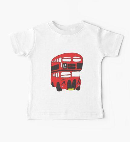 Cute London Bus Baby Tee
