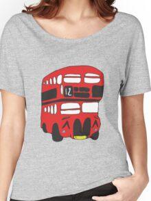 Cute London Bus Women's Relaxed Fit T-Shirt