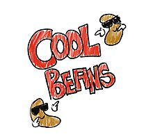 Cool Beans Photographic Print