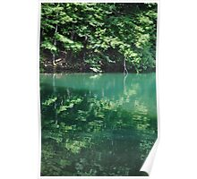 """""""Waterscape - Liberty Reservoir"""" Poster"""