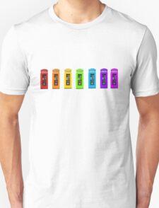 Rainbow Phone boxes  Unisex T-Shirt