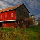 Red Barn by Sharon Batdorf
