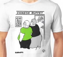 All You Can Eat For A Tenner. Unisex T-Shirt
