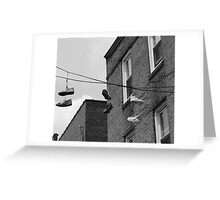 Sneakers - South Street Philadelphia Greeting Card
