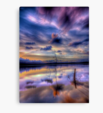 Immersed Canvas Print