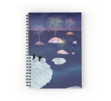 New Year's Eve Spiral Notebook