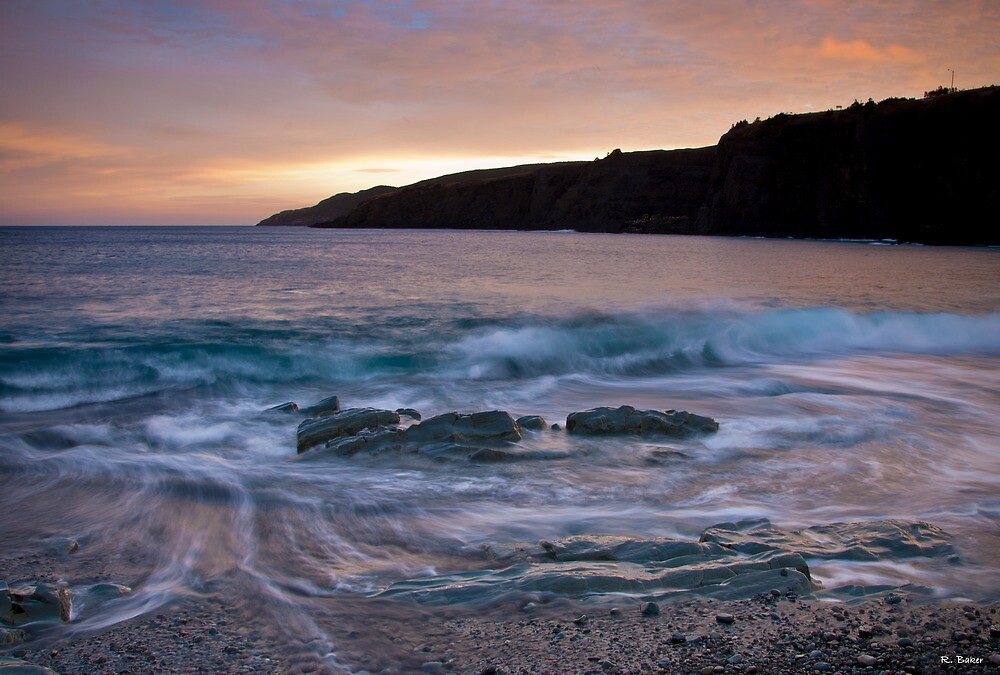 Middle Cove Rock by Robert Baker