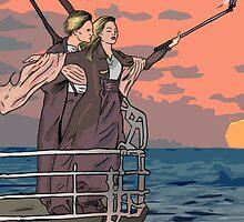 Titanic selfie by matan kohn