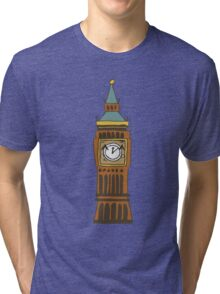 Cute Big Ben Tee Tri-blend T-Shirt