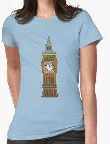 Cute Big Ben Tee Womens Fitted T-Shirt