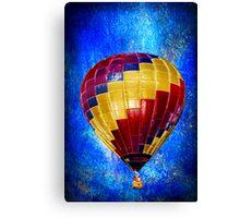 Whimsical Balloon Ride Canvas Print