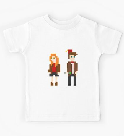 Eleven and Amy Pixel Kids Tee