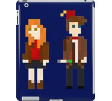 Eleven and Amy Pixel iPad Case/Skin