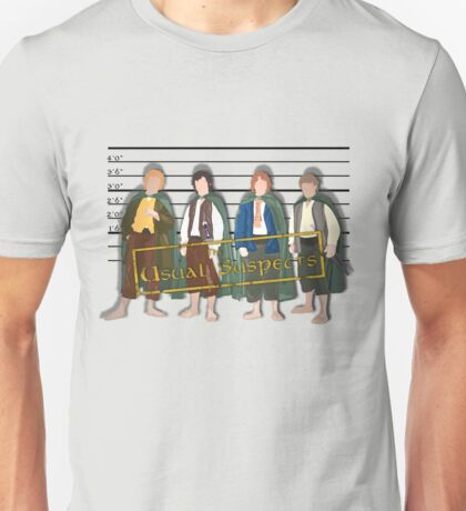 The Usual Suspects - Halflings Unisex T-Shirt