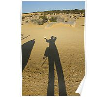 Me and my Shadow - 02 - Hefting a rock. Poster