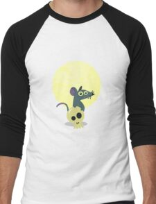 Moon Rat Men's Baseball ¾ T-Shirt