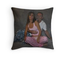 """ POP's and Spy..."" Throw Pillow"