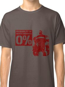 Liberty Prime Mission Hindrance 0% (rust color) Classic T-Shirt