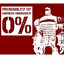 Liberty Prime Mission Hindrance 0% (white color) Photographic Print