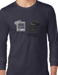 Juicy - Super Nintendo Sega Genesis Long Sleeve T-Shirt