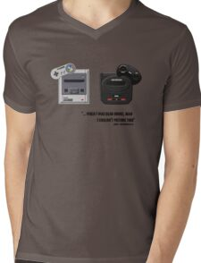 Juicy - Super Nintendo Sega Genesis Mens V-Neck T-Shirt