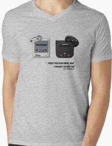Juicy - Super Nintendo Sega Genesis Mens V-Neck T-Shirt