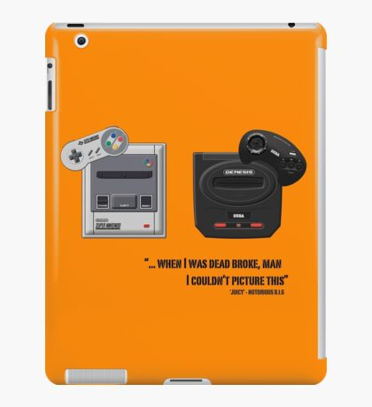 Juicy - Super Nintendo Sega Genesis iPad Case/Skin