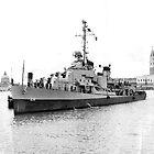 DD 838, The USS Ernest G Small  1946  by David M Scott