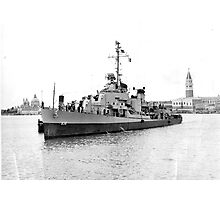 DD 838, The USS Ernest G Small  1946  Photographic Print