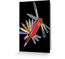 Pocket Art Greeting Card