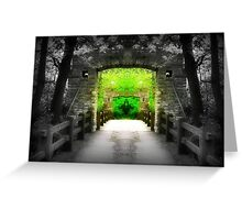 Enter Paradise © Greeting Card