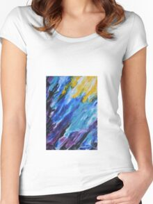 cool flow Women's Fitted Scoop T-Shirt