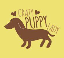Crazy puppy dog lady One Piece - Short Sleeve
