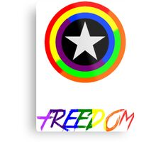 Captain Freedom Metal Print