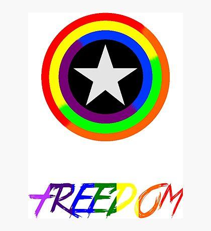 Captain Freedom Photographic Print