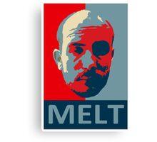 Melt. Canvas Print