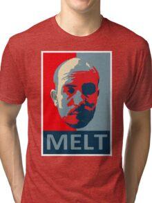 Melt. Tri-blend T-Shirt