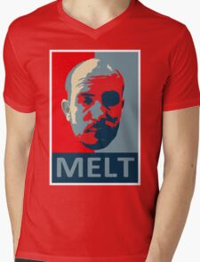 Melt. Mens V-Neck T-Shirt