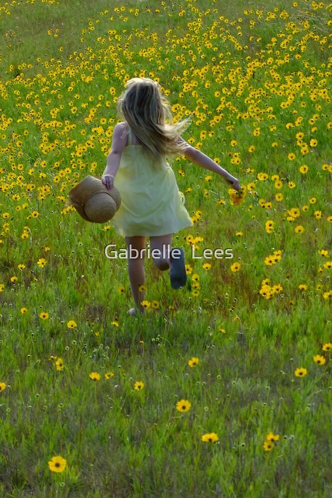 Skipping Through the Daisies! by Gabrielle  Lees