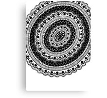 Black and White #6 Canvas Print