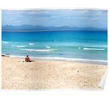 Wategos Beach Byron Bay Australia Poster