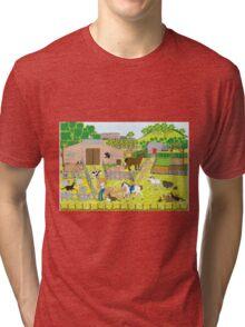 In the Farm Yard Tri-blend T-Shirt