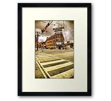 vision dreams of passion  Framed Print