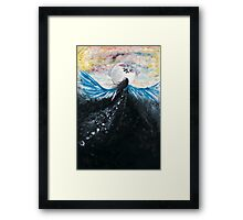 out of the cage Framed Print