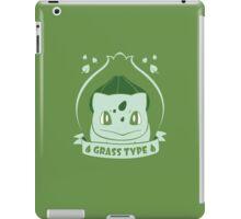 Grass Type iPad Case/Skin