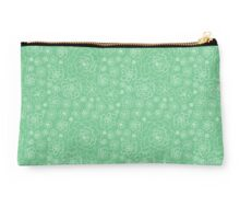 Succulents - Repeating Pattern Studio Pouch